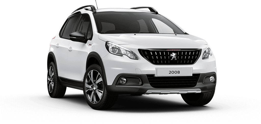 Peugeot 2008 SUV GT Line Bianca White