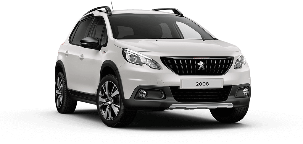 Peugeot 2008 SUV GT Line Pearl White