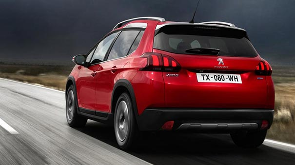 Peugeot 2008 suv gt line sharp design