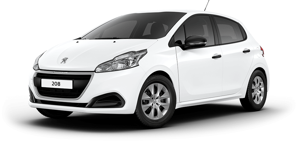 Peugeot 208 access bianca white