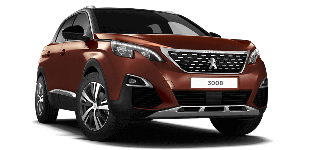 Peugeot 3008 SUV GT Line Metallic Copper