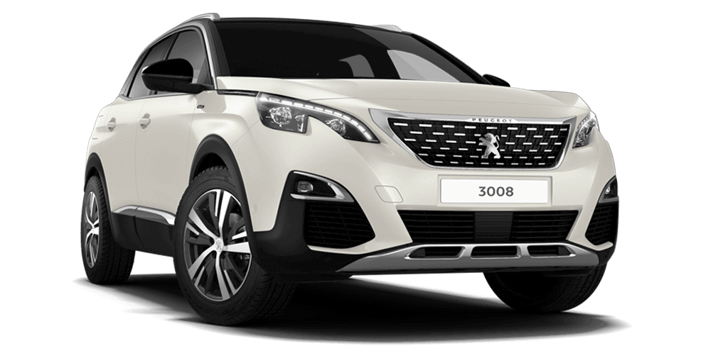 Peugeot 3008 SUV GT Line Pearl White