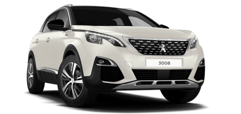 peugeot 3008 GT Line Pearl White