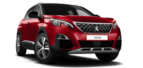peugeot 3008 GT Line Ultimate Red