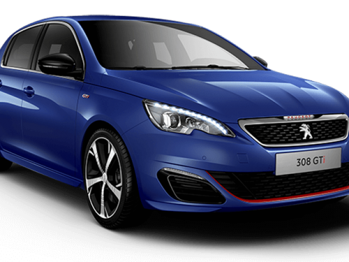 Peugeot 308 gti 250 magnetic blue