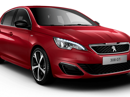 Peugeot 308 gti 250 ultimate red