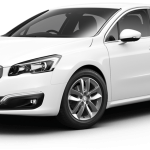 Peugeot 508 active bianca white
