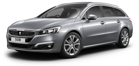 Peugeot 508 touring allure artense grey