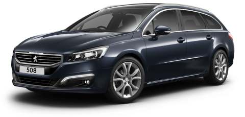 Peugeot 508 touring allure egyptian blue