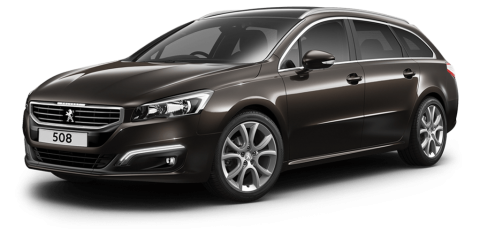 Peugeot 508 touring allure espresso brown