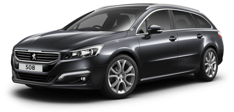 Peugeot 508 touring allure flint grey