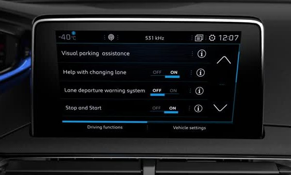 3008 suv driving function