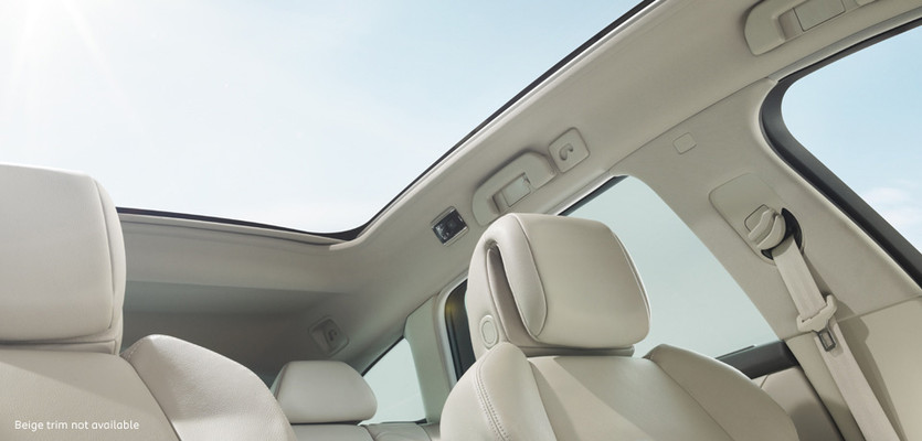 508 touring glass roof