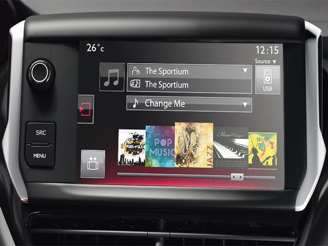 peugeot 208 gti touch screen