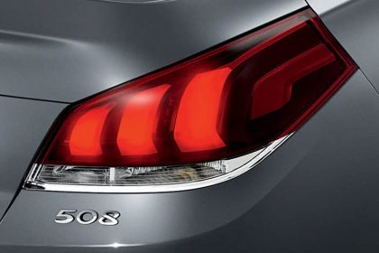 peugeot 508 lighting