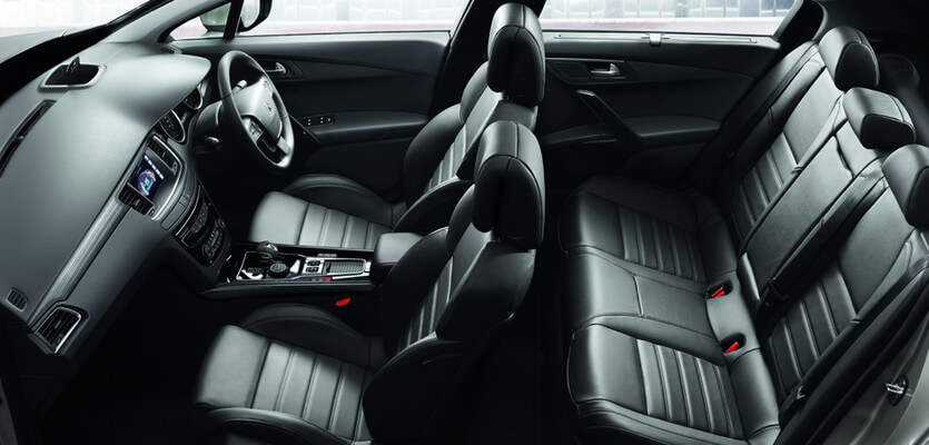 new peugeot 508 black leather