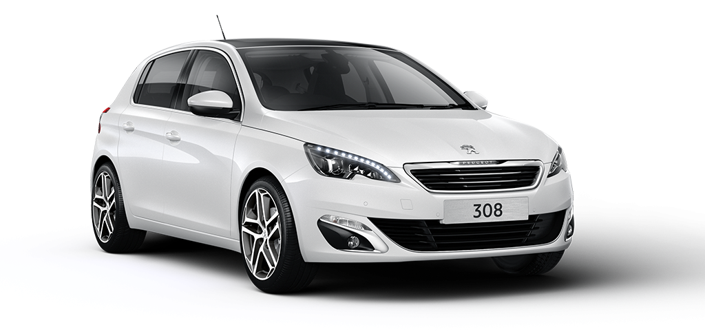 Peugeot 308 Pearl White