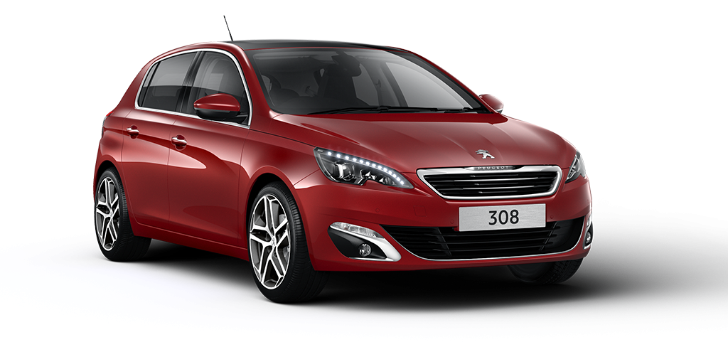 Peugeot 308 Ruby Red