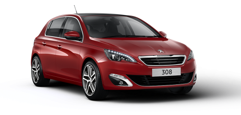 Peugeot 308 allure premium ruby red