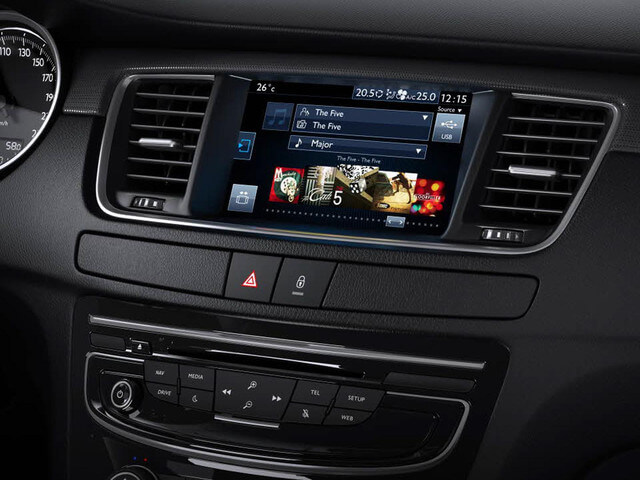 bluetooth and usb slot in the dashboard