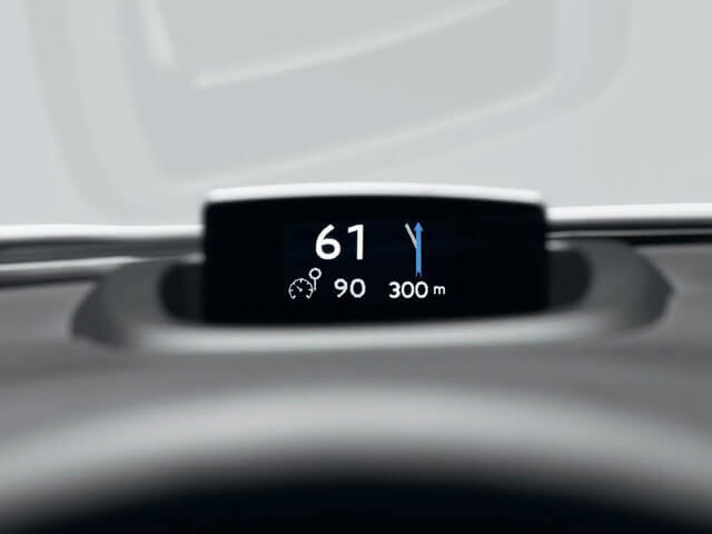 colour head up display