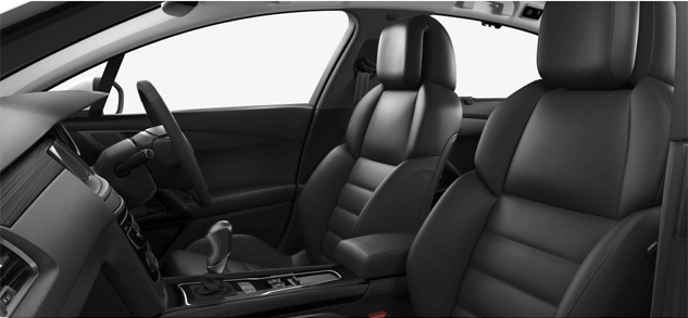 Peugeot black seating trims