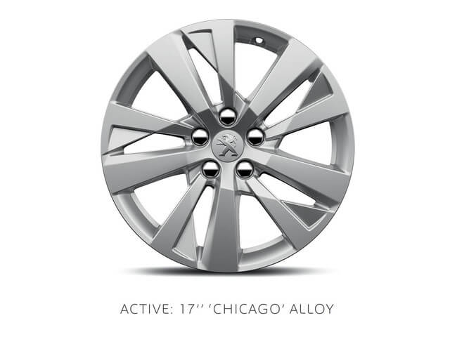 peugeot 3008 suv active chicago alloy