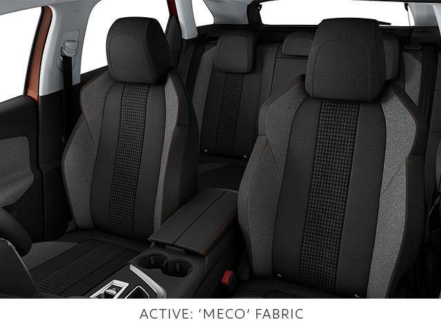 Peugeot 3008 SUV active cloth trim