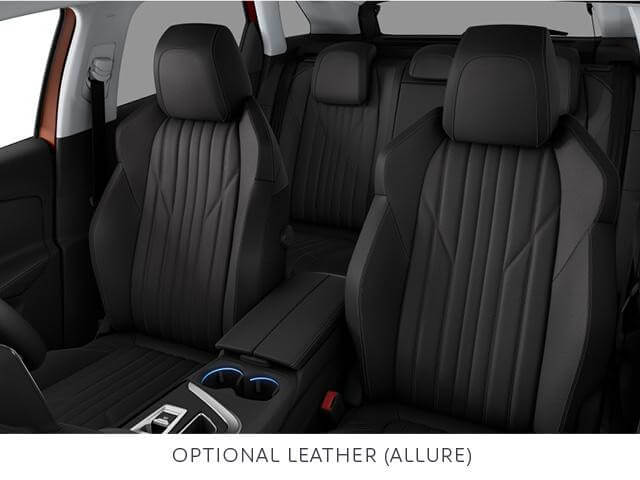 Peugeot 3008 SUV optional leather trim allure