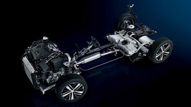 Peugeot 3008 naked engine and body frame with high quality parts