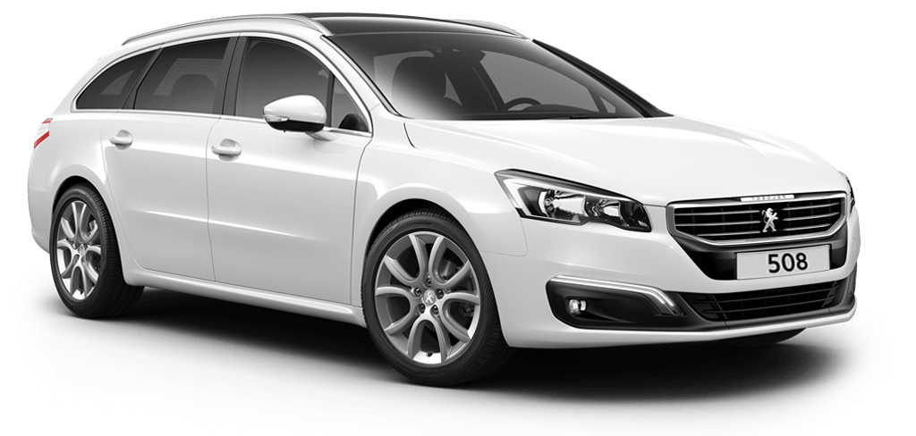 Peugeot 508 touring allure pearl white