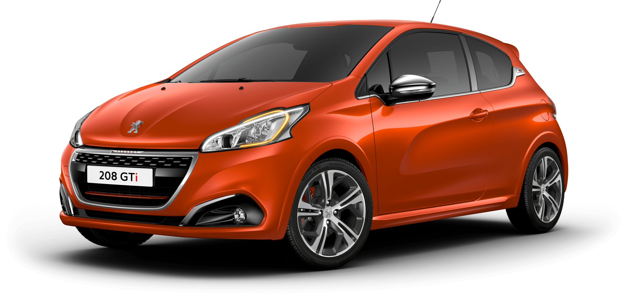 208 GTi Orange Power
