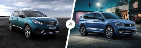 Peugeot 5008 vs VW Tiguan