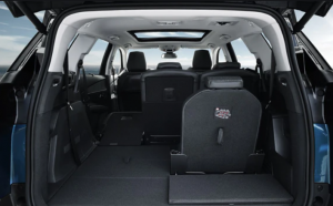 PEUGEOT 5008 SUV boot space