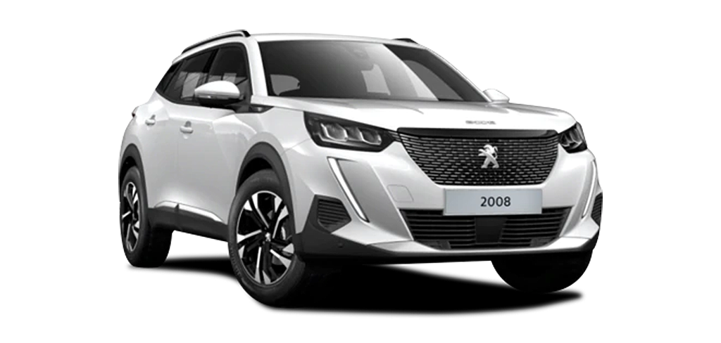 Peugeot New 2008 SUV GT Line Pearl White