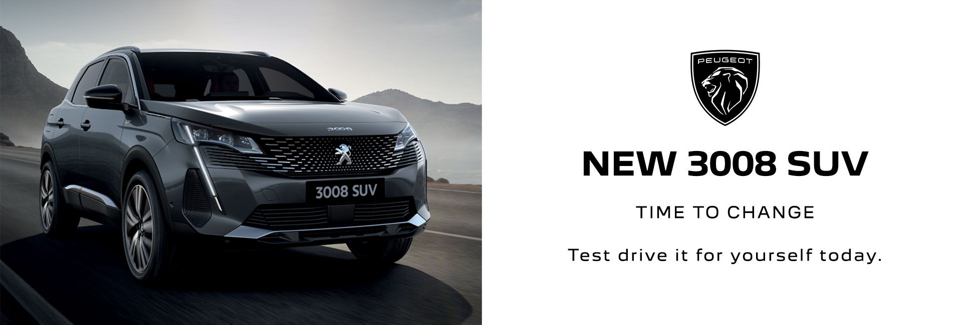 All New 3008 SUV Peugeot